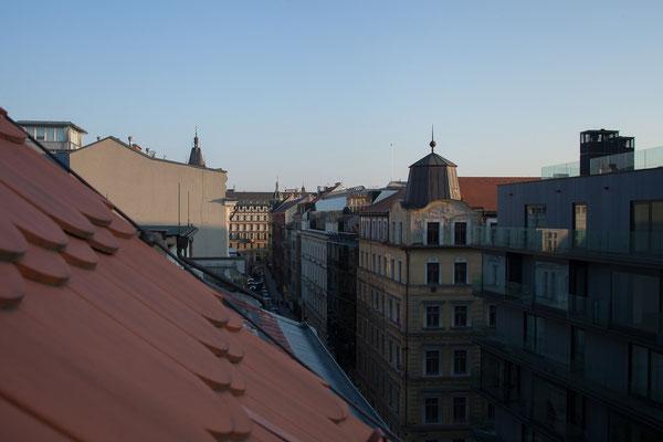 05.05. Blick aus dem Hotelzimmer