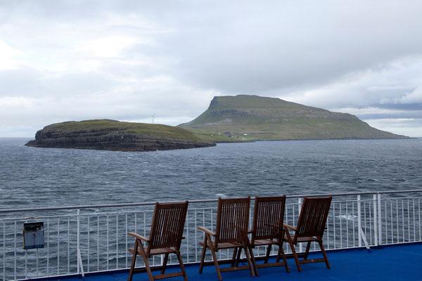 30.7. Norröna - im Archipel der Färöer Inseln