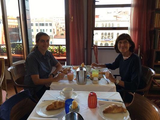 02.07. Frühstück im Ca' Angeli