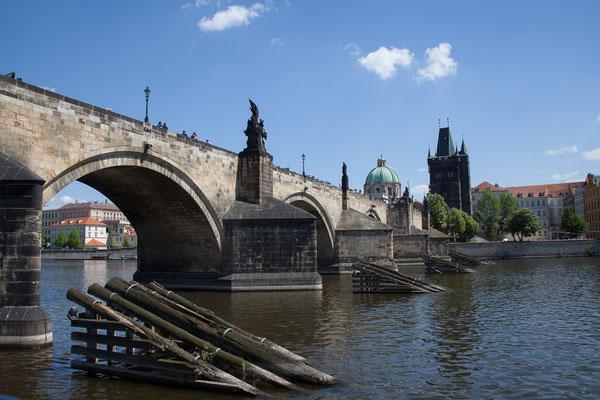 07.05. Bootsfahrt auf der Moldau, Karlsbrücke