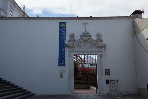 14.09. Mosteiro de São Vicente de Fora: die Kirche mit dem angeschlossenen Kloster wurde ab 1552 im Auftrag Philipp II von Spanien errichtet.