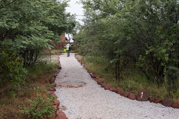 21.4. Waterberg Wilderness, wir ziehen in einen hübschen Bungalow der Plateau Lodge um