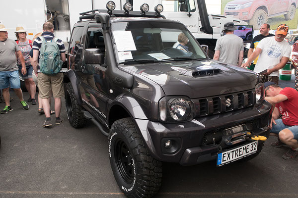 15.06. Abenteuer Allrad - Suzuki Jimni, scharf mit alles.