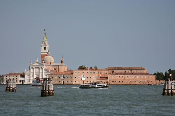 14.09. Blick auf San Giorgio Maggiore