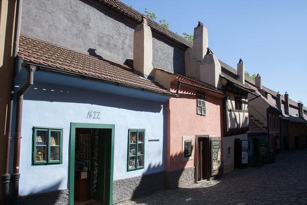 08.05. Prager Burg: Goldenes Gässchen