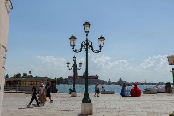 01.07. Weiter gehts nach San Giorgio Maggiore.