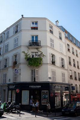 13.06. Weiter spazieren wir zum Montmartre.