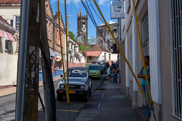 Inselhauptstadt St. Georges