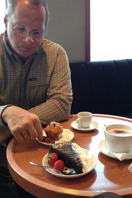 22.8. Kaffee und Kuchen