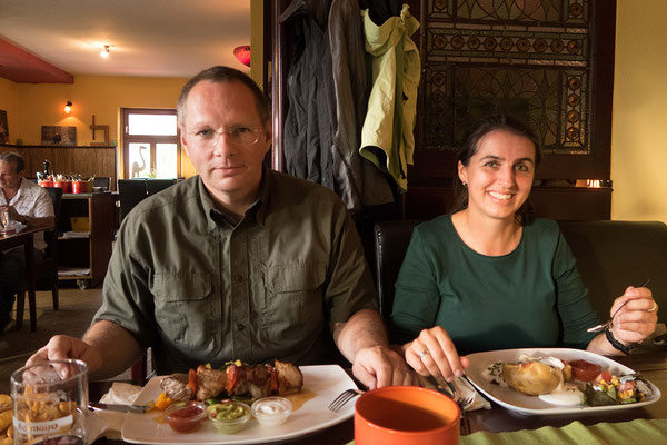 16.06 Abendessen im La Canchanchara