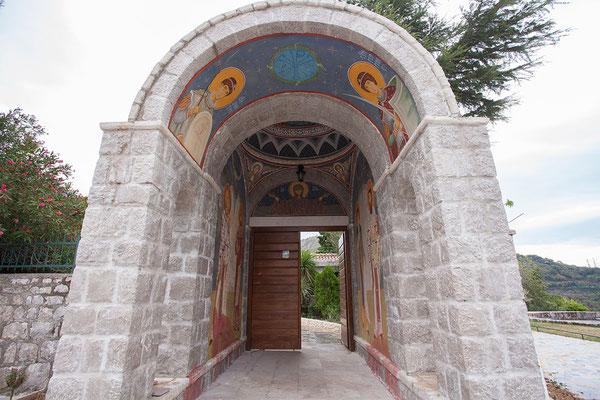 7.9. Heute statten wir dem Kloster Reževići einen Besuch ab.