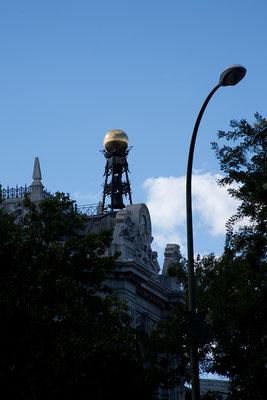 24.09. Wir spazieren den Paseo del Prado entlang.