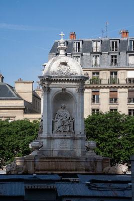 14.06. Auf dem Platz vor der Église Saint Sulpice