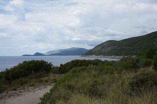20.09. Kap Oštro, Halbinsel Prevlaka