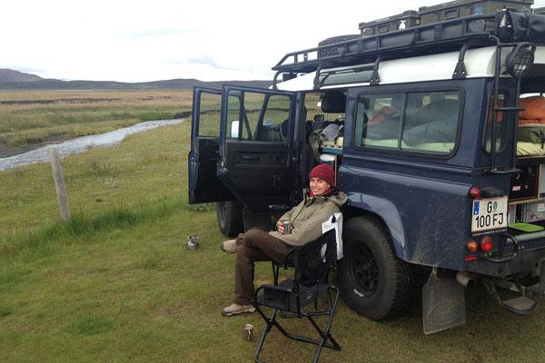 31.7. Möðrudalur - hier verbringen wir auch unsere erste Nacht auf der Insel