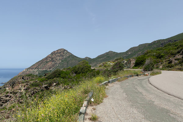 29.05. Cap Corse, Weiterfahrt Richtung Nonza