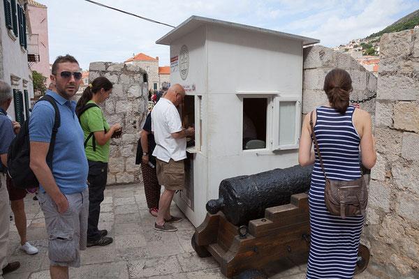 21.09. Dubrovnik - Zeit für die Stadtmauer