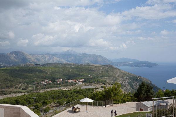 21.09. Dubrovnik - Aussicht vom Srđ
