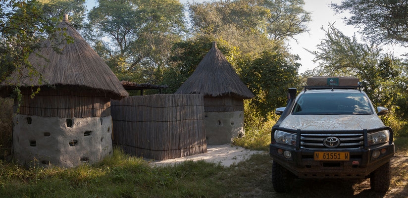 26.4. Kurz nach Kongola erreichen wir Mavunje. Das Camp liegt am Kwando (bzw. dessen Floodplains) in der 2003 proklamierten Mashi Conservancy.