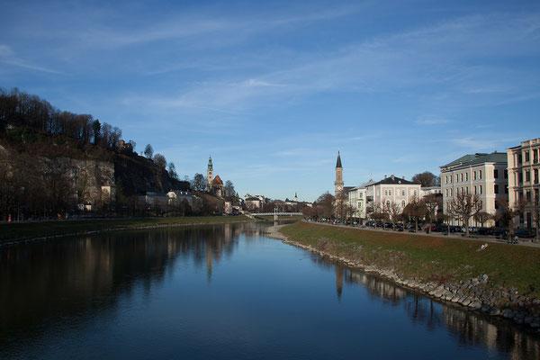 An unserem letzten Vormittag in Salzburg spazieren wir noch einmal in die Altstadt
