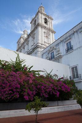 14.09. Mosteiro de São Vicente de Fora: erst 1629 wurden die Bauarbeiten abgeschlossen.