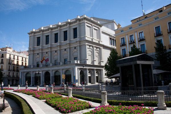 24.09. Plaza de Oriente: Teatro Real