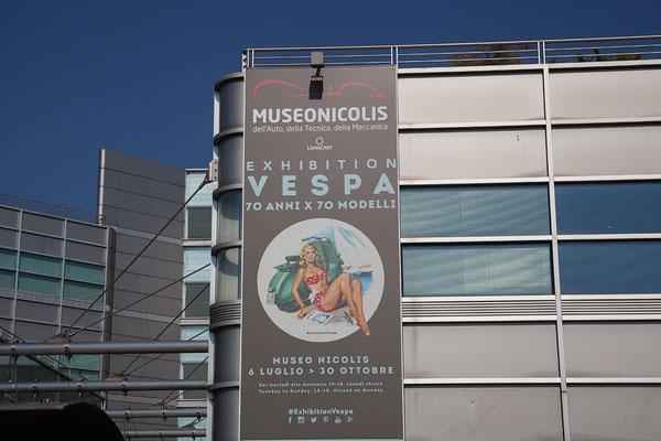 25.09. Nach einem gemütlichen Frühstück machen wir uns auf den Weg zum Museo Nicolis, etwa 20 km von Verona.