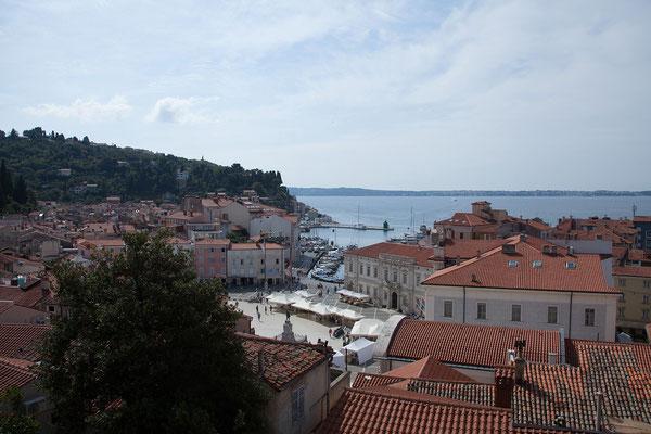 Piran, Blick auf die Altstadt