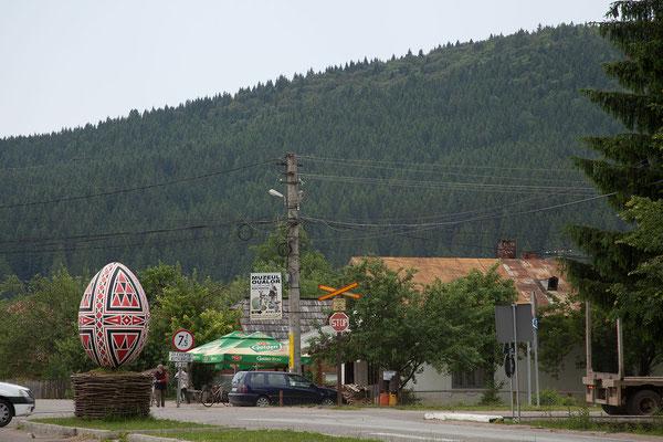 17.6. Die Bucovina ist v.a. für ihre kunstvoll bemalten Klöster und Eier bekannt.