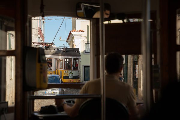 17.09. Unterwegs mit der Straßenbahn Nummer 28