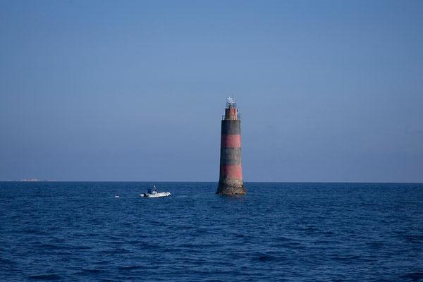 14.09. Leuchtturm bei den Lavezzi Inseln