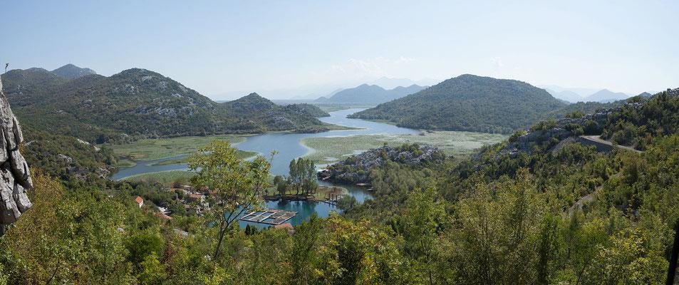 15.9. Bei Karuć erreichen wir den montenegrinischen Teil des Skadarsko Jezero.