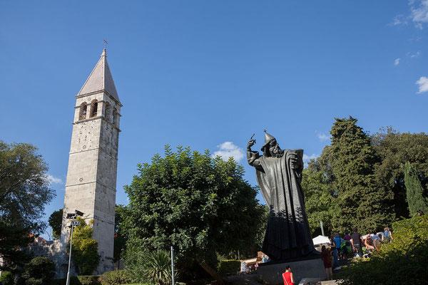 22.09. Split - Statue Grgur Ninskis