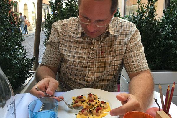 24.09. Verona - Mittagessen