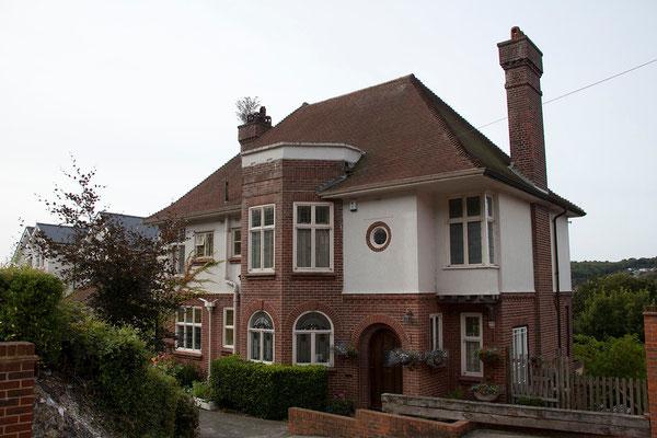 01.09. In Dover übernachten wir im Crabble Hill House.
