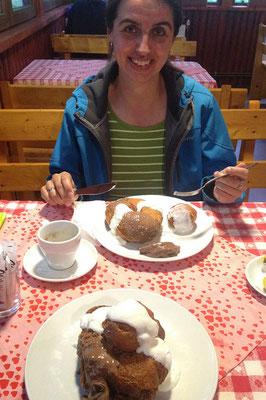 17.06. Schon wegen des Essens bei Mama Uța sollte man ins Apuseni-Gebiet kommen.