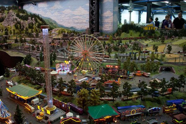 24.07. Miniaturwunderland: Kirmes in Mitteldeutschland