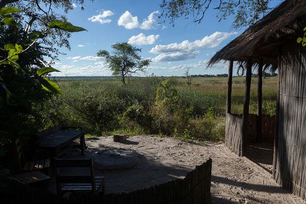 26.4. Dan Stevens und seine Mitarbeiter haben in Mavunje zwei wunderbare Campsites errichtet.