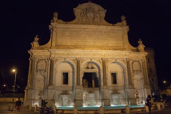 22.05. Fontana dell' Acqua Paola