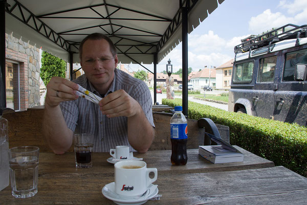 05.06. Pause in Saschiz