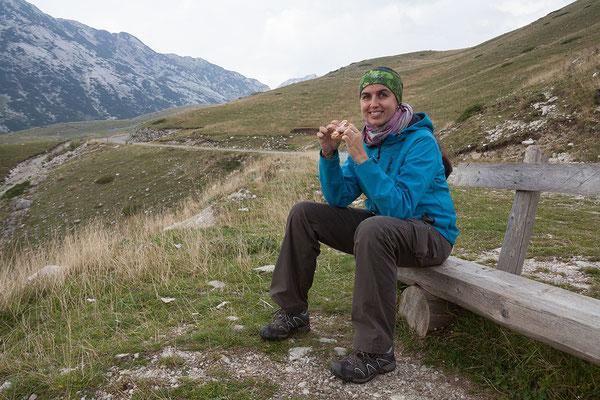 11.9. Durmitor Nationalpark - wir jausenen den ausgezeichneten Schinken aus Njeguši