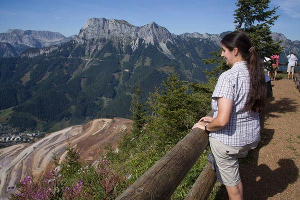 Erzbergwanderung - Aussicht vom Gipfel (1465m)