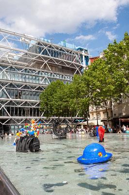 13.06. Fontaine Stravinsky  & Centre Pompidou
