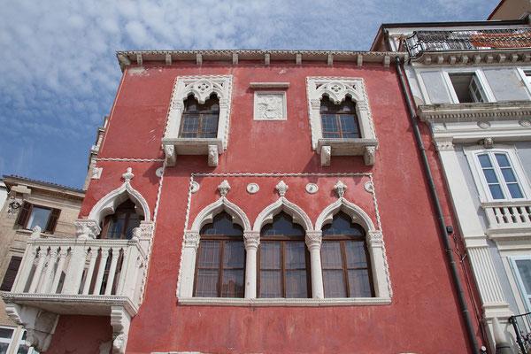 Piran, Tartini Platz, Venezianerhaus