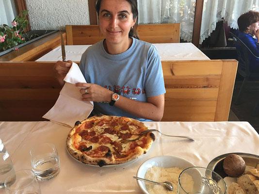 25.09. Pizzeria Al Sole bei Udine