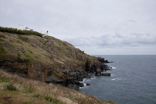 08.09. Lizard Point, Lizard Peninsula. Der südlichste Punkt Großbritanniens.