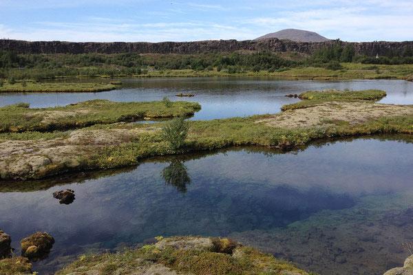 11.8. Þingvellir - Silfra Spalte