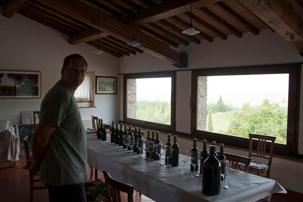 19.09. Weingut Isole e Olena, wir kaufen Wein und Olivenöl