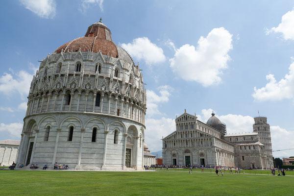 07.06. Pisa: Baptisterium & Dom