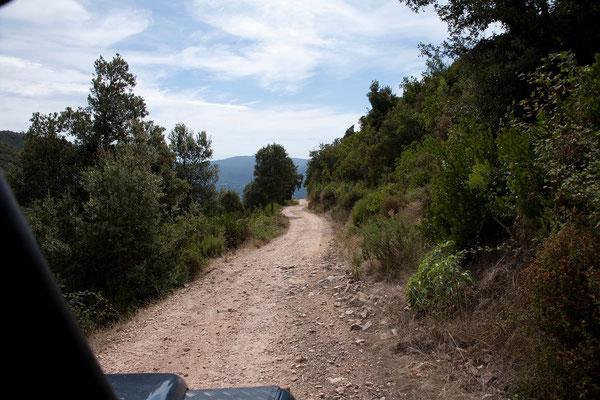 07.09. Eine tolle Strecke führt uns durch das Prunelli-Tal zum Col de Mercujo